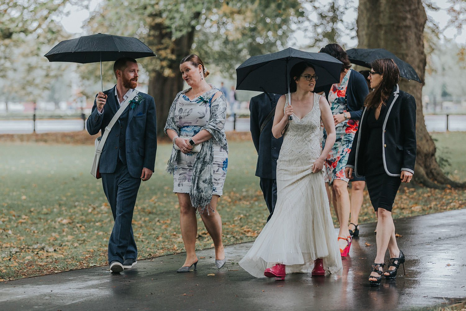 alternative cambridge wedding