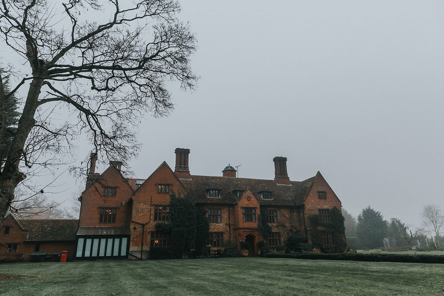 woodhall manor wedding by matt wing