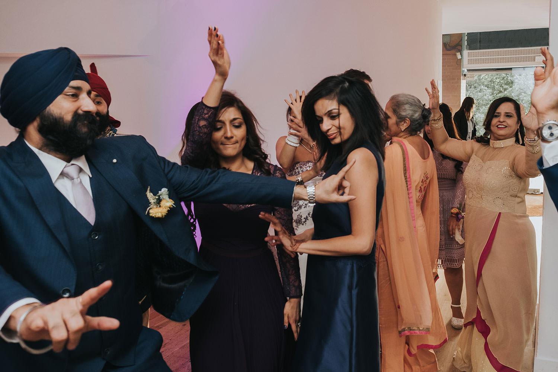 dancing at OXO2 Wedding London