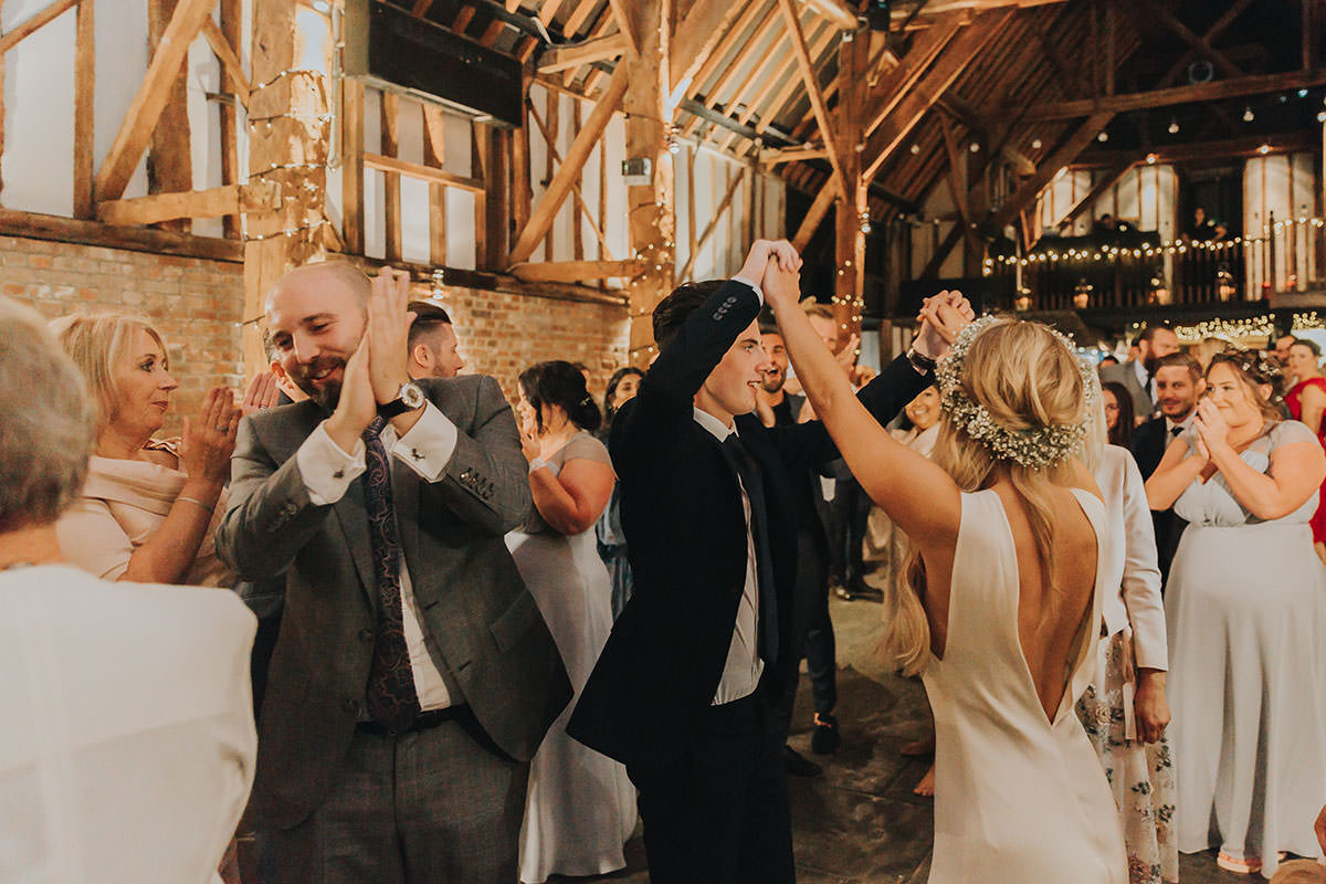 Holly and Ross / Cooling Castle Barn 9