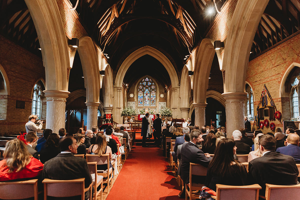 crondon park wedding church