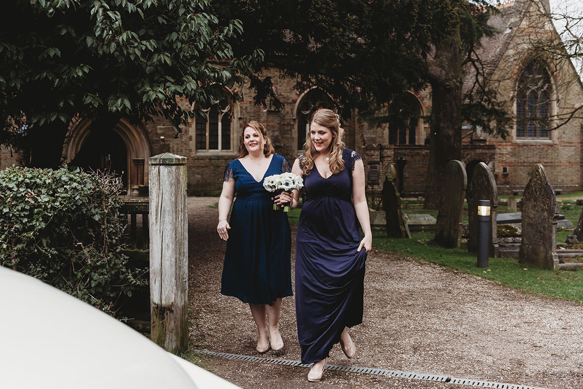 crondon park wedding bridesmaids