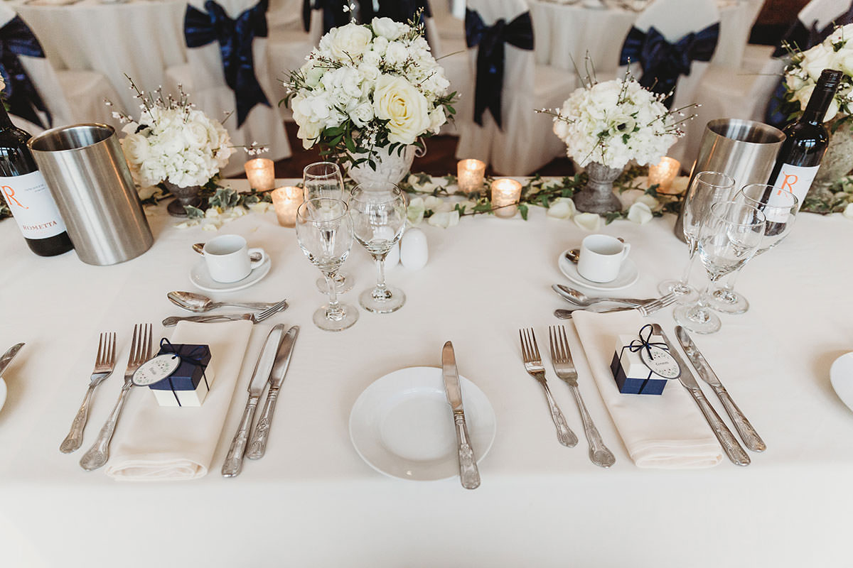 crondon park wedding table decor