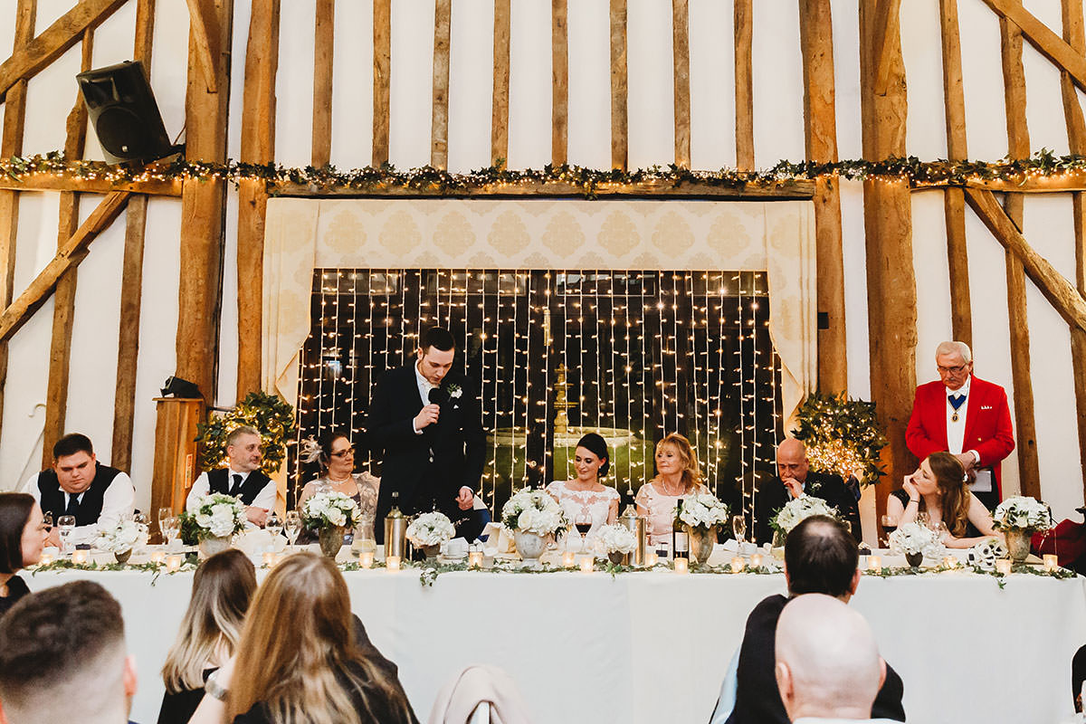 crondon park wedding speech