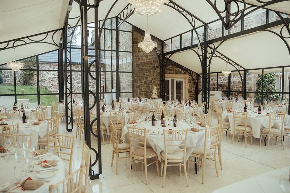 paschoe house wedding glass room