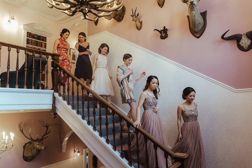 paschoe house wedding girls