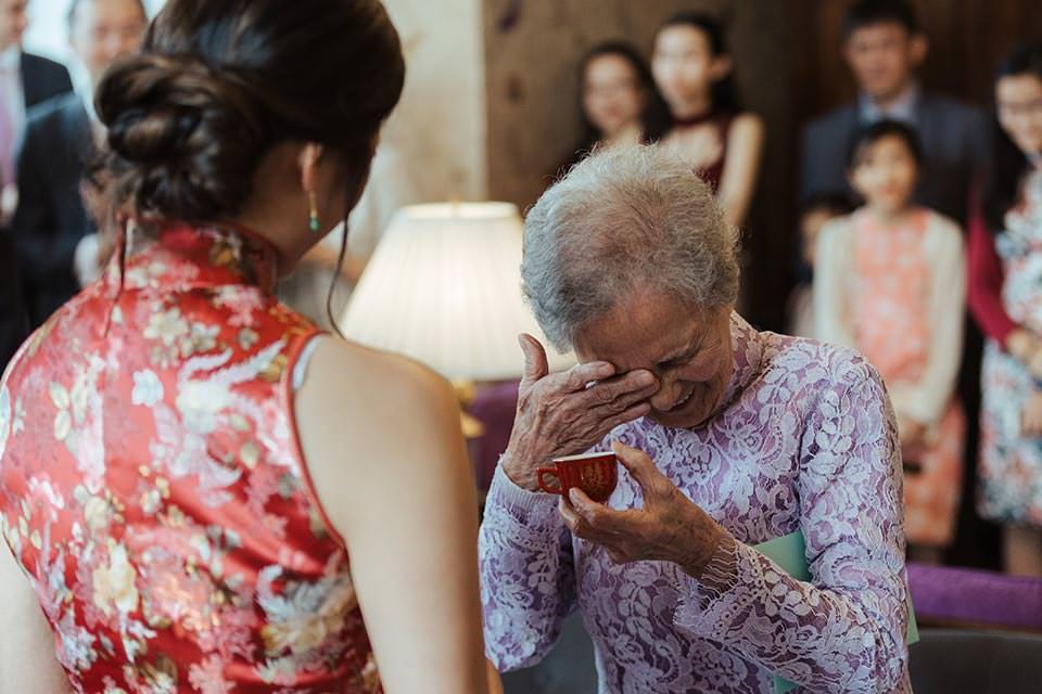 paschoe house wedding grandmother