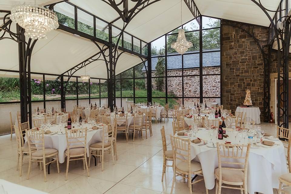 paschoe house wedding glass room
