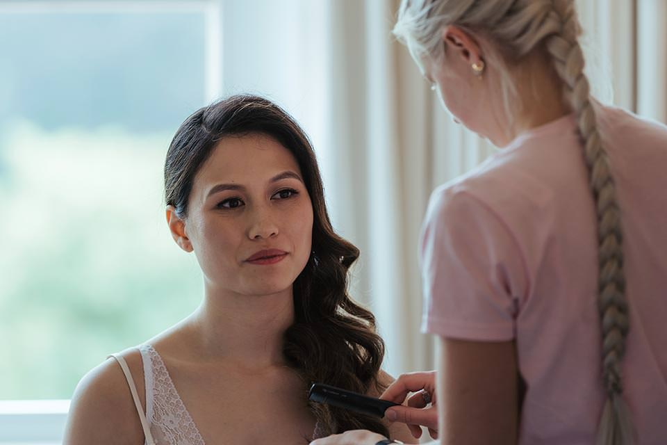 paschoe house wedding make up