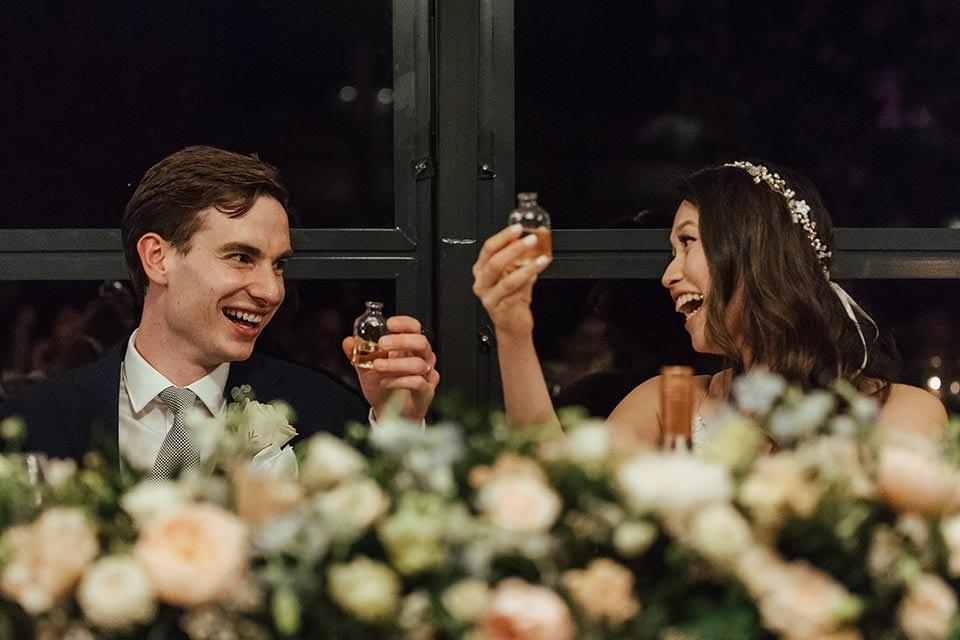 paschoe house wedding toast Gānbēi