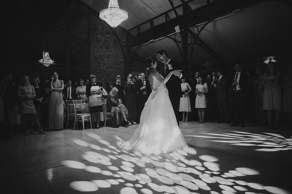 paschoe house wedding first dance