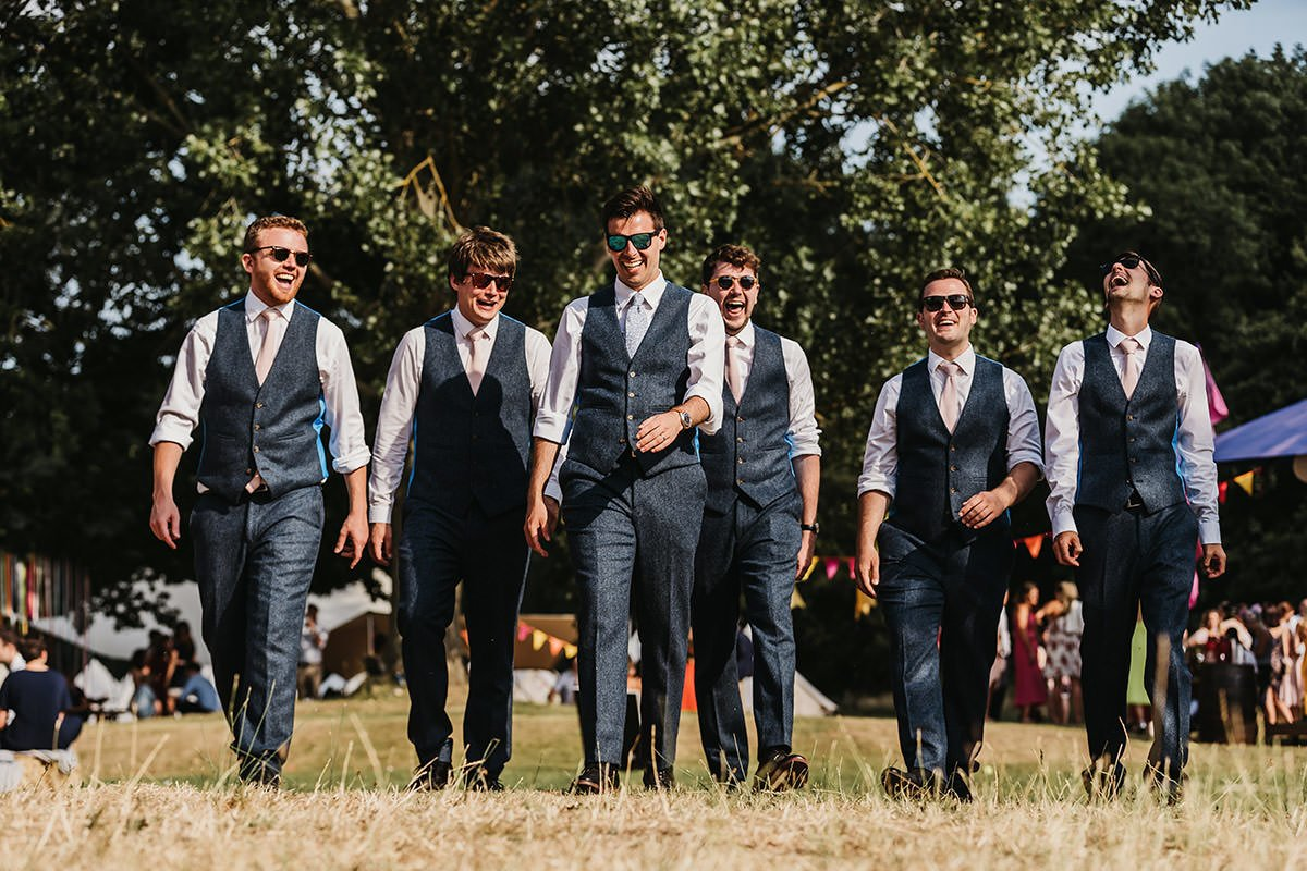 Browning Bros wedding groomsmen
