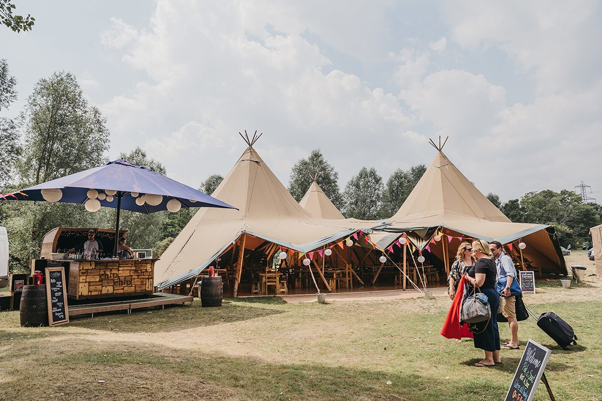 Browning Bros Wedding tipi