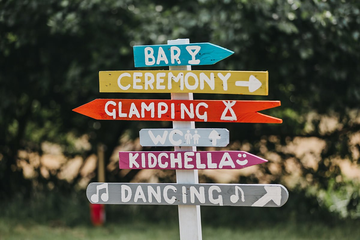Browning Bros Wedding signs