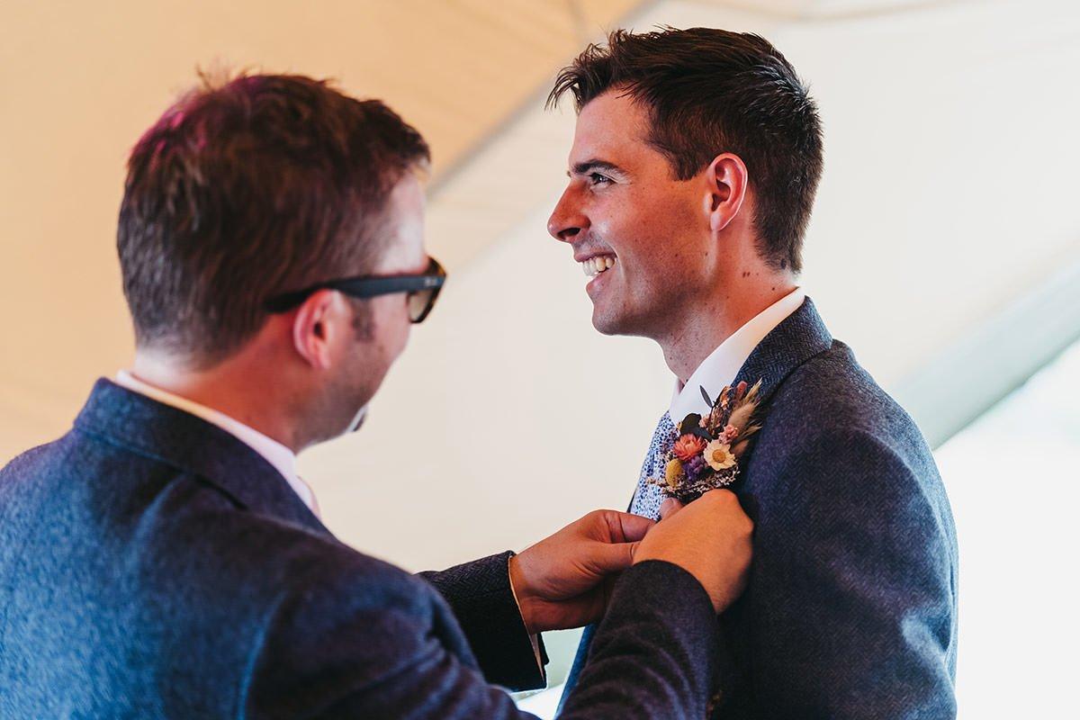 Browning Bros Wedding laugh