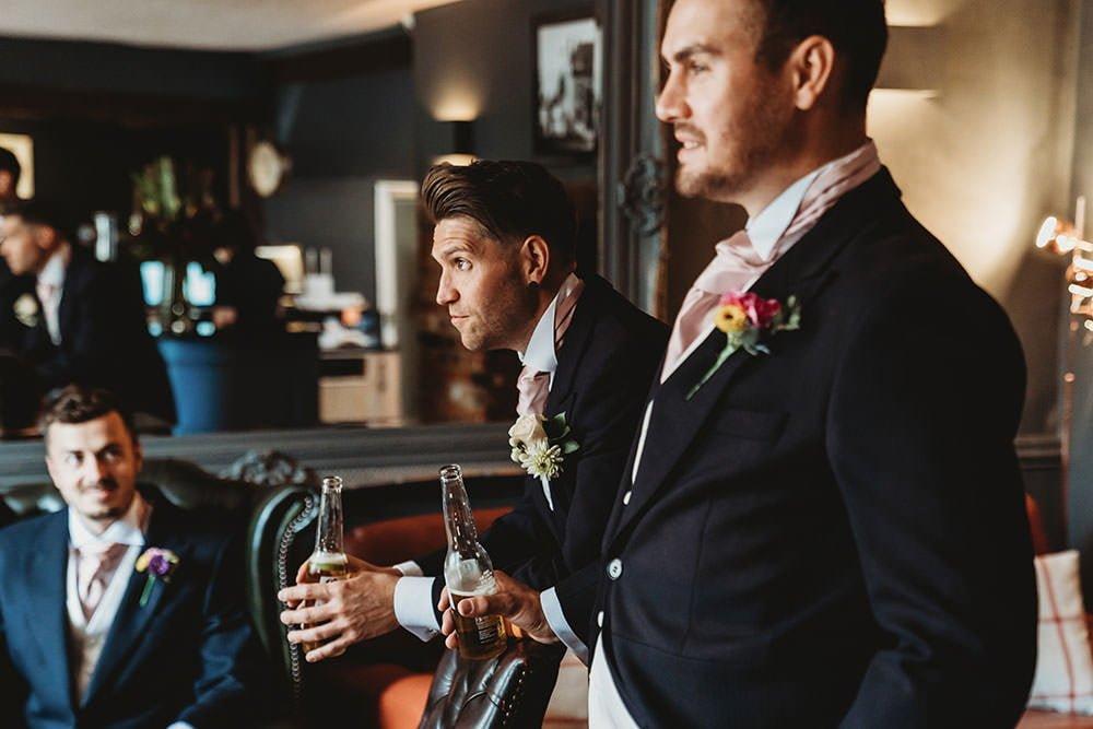 barnston lodge wedding groom ponderous