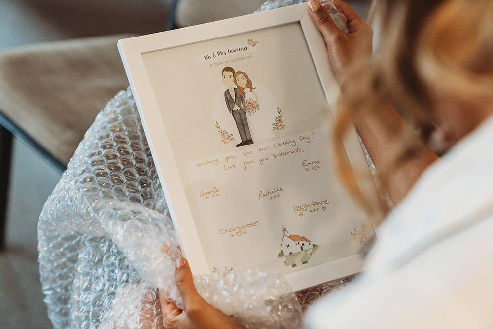 barnston lodge wedding gift