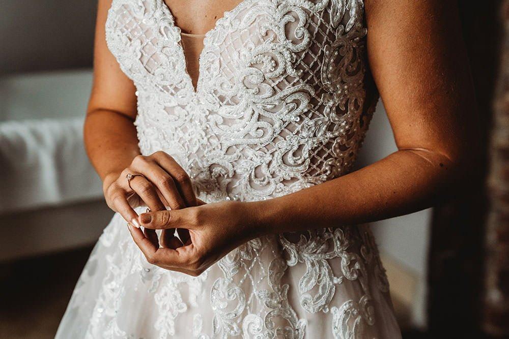 barnston lodge wedding bride nervous