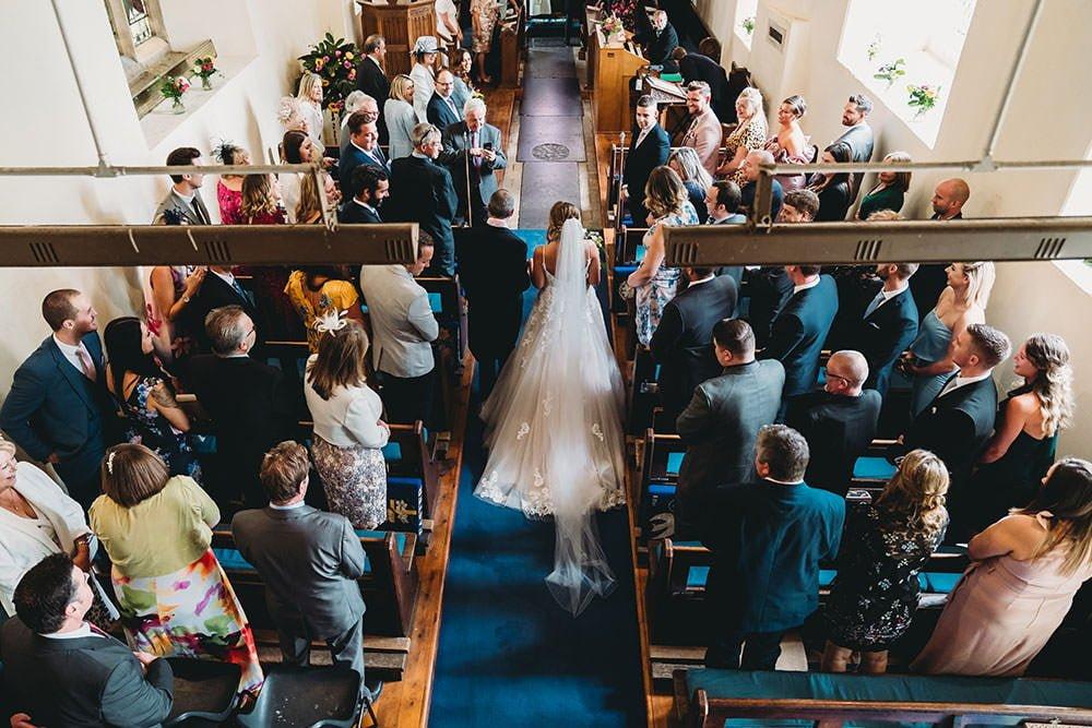 barnston lodge wedding bride entrance