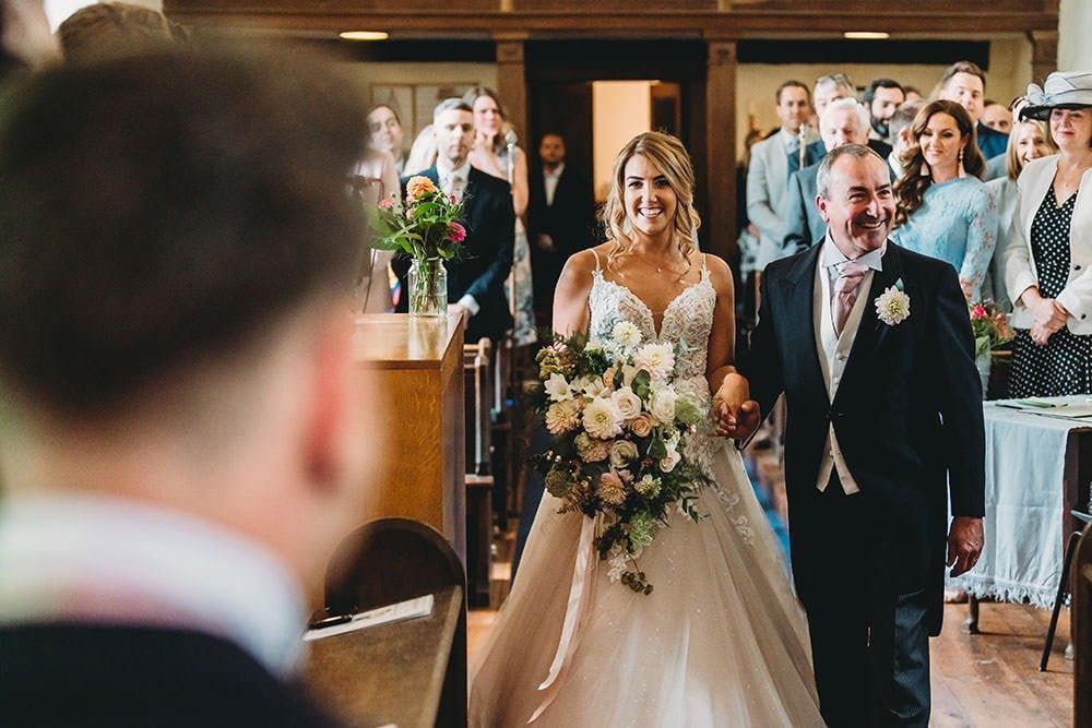 barnston lodge wedding bride