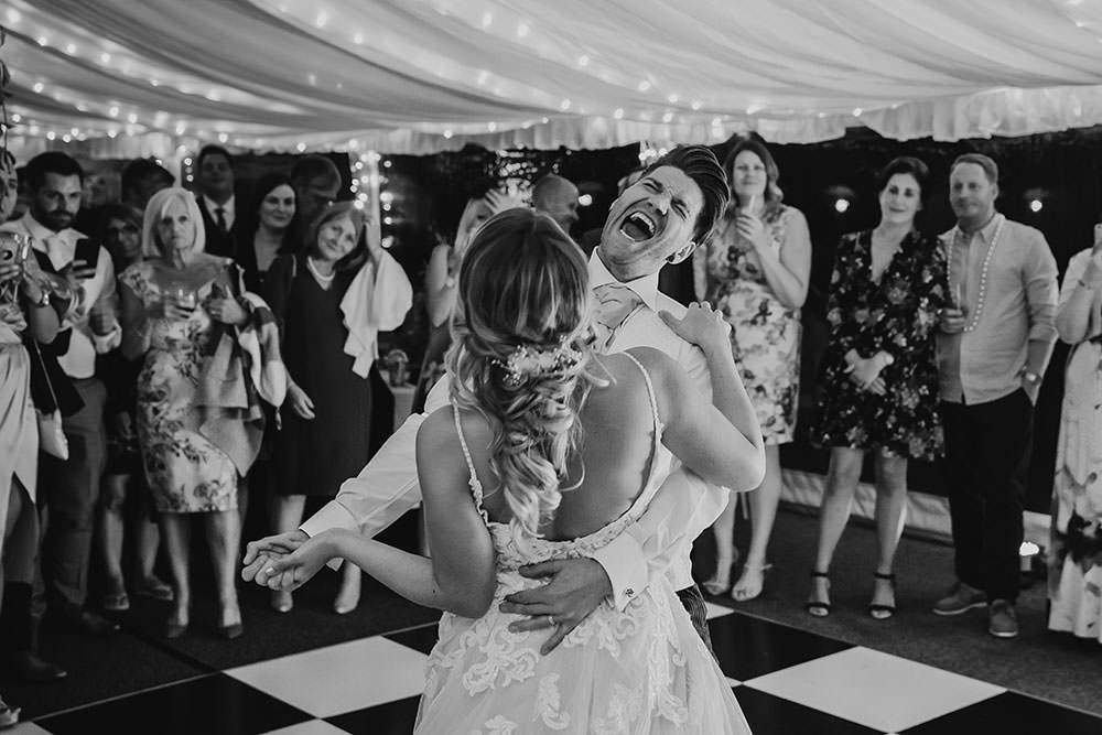 barnston lodge wedding dancing