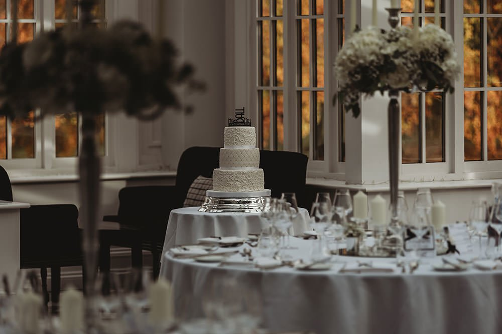 swynford manor wedding cake