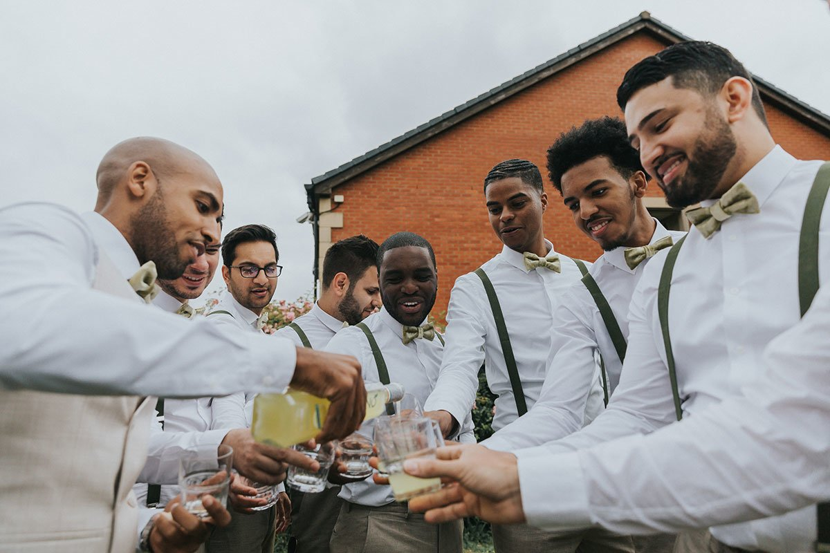 groom preparation tips drinking