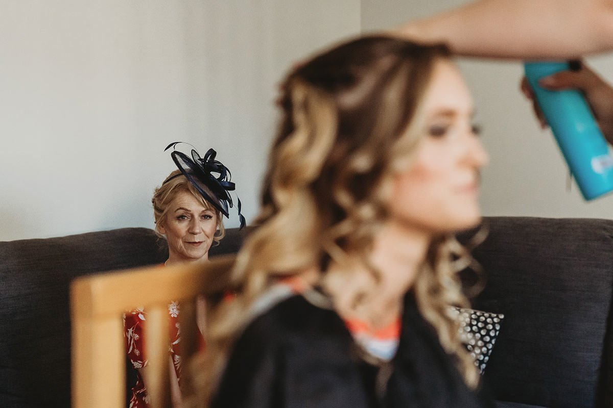 isle of wight wedding photography makeup