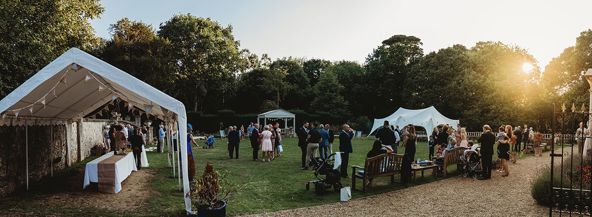 isle of wight wedding photography landguard manor garden