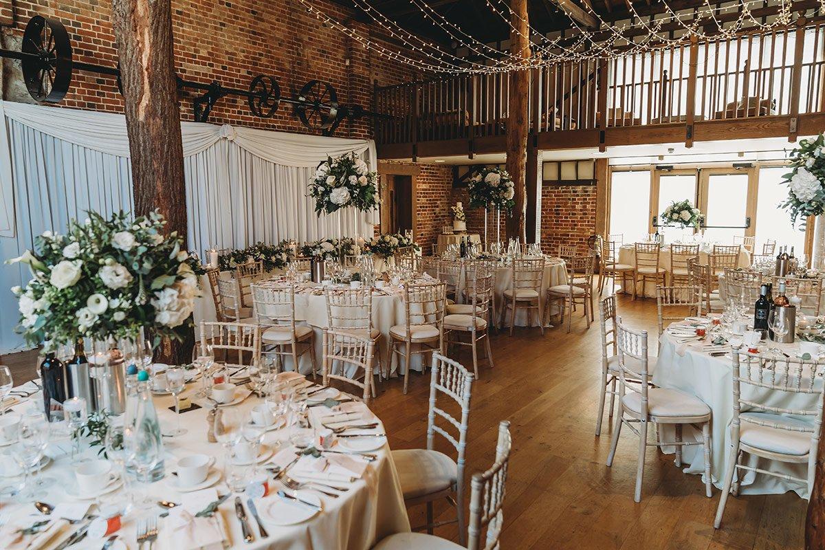 Gaynes Park Wedding Venue 62