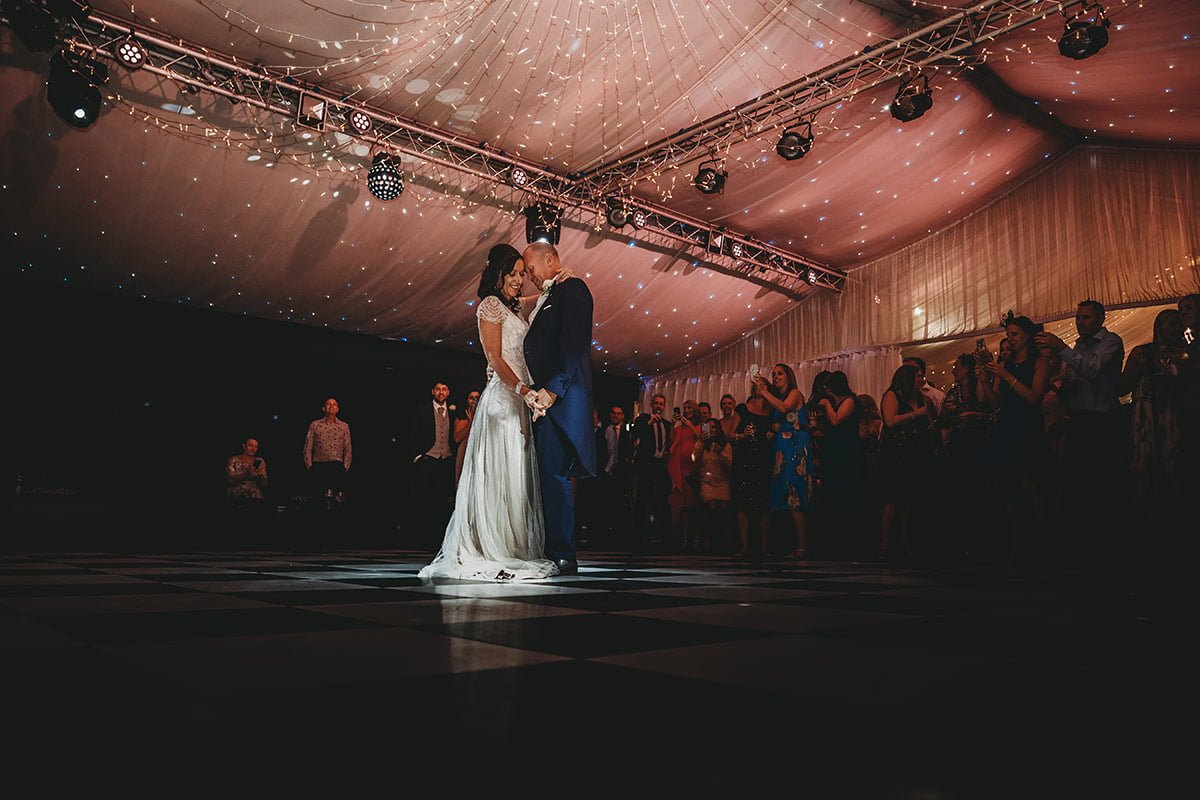 braxted park summer wedding first dance